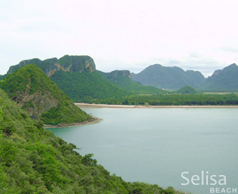 Selisa beach in Thailand