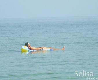 Selisa beach the sea