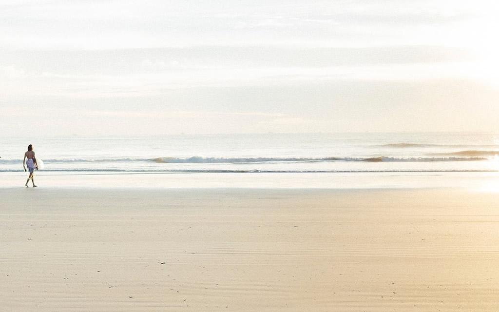 Beach walk at Selisa beach